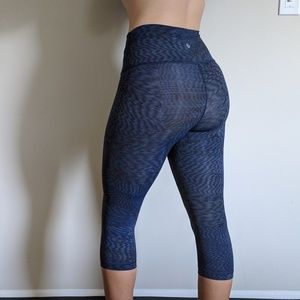 Blue Pattern Lululemon Leggings